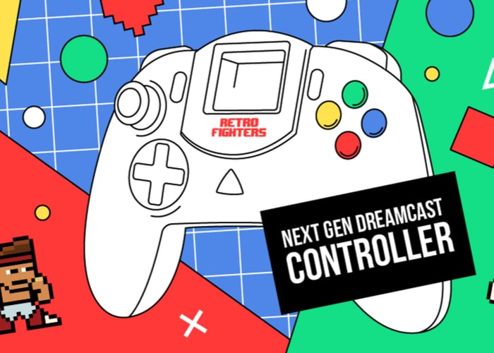 Next Gen Dreamcast Controller: Comeback des Kult-Gamepads