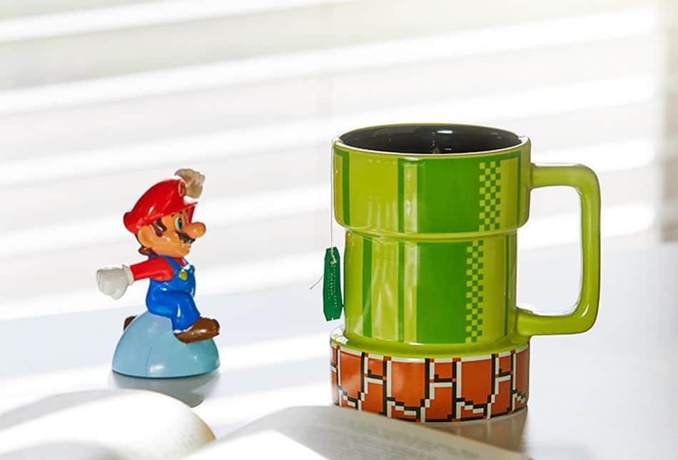 Wie wäre es mit dieser Super-Mario-Bros-Tasse? (Foto: ThinkGeek)