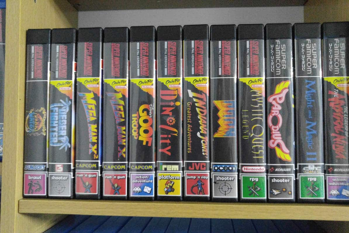 Retro Cartridge Cases: Alte Spiele in modernen Verpackungen