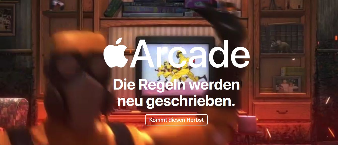 Apple Arcade startet im Herbst 2019. (Foto: Screenshot / Apple)