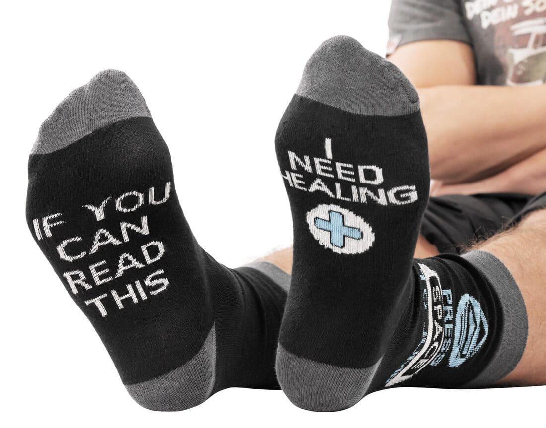 Wie wäre es mit diesen Gamer Socken? (Foto: GetDigital)