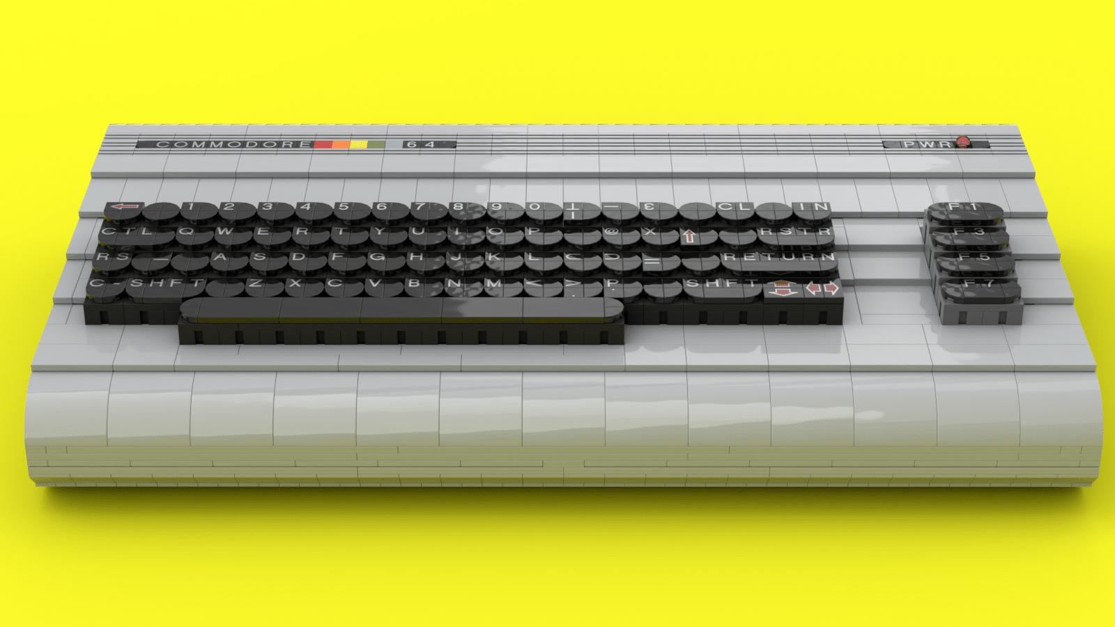 Ein LEGO C64 in Originalgröße. (Foto: Perifractic)