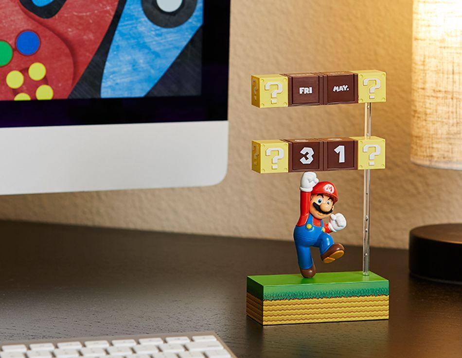 Das ist ein witziger Kalender mit Super Mario. (Foto: ThinkGeek)