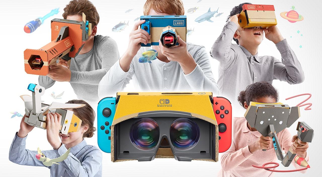 Virtual Reality für die Nintendo Switch!? (Foto: Nintendo)