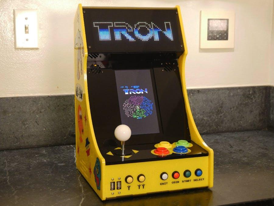 Ein schöner Automat mit LED-Matrix. (Foto: Al Linke)