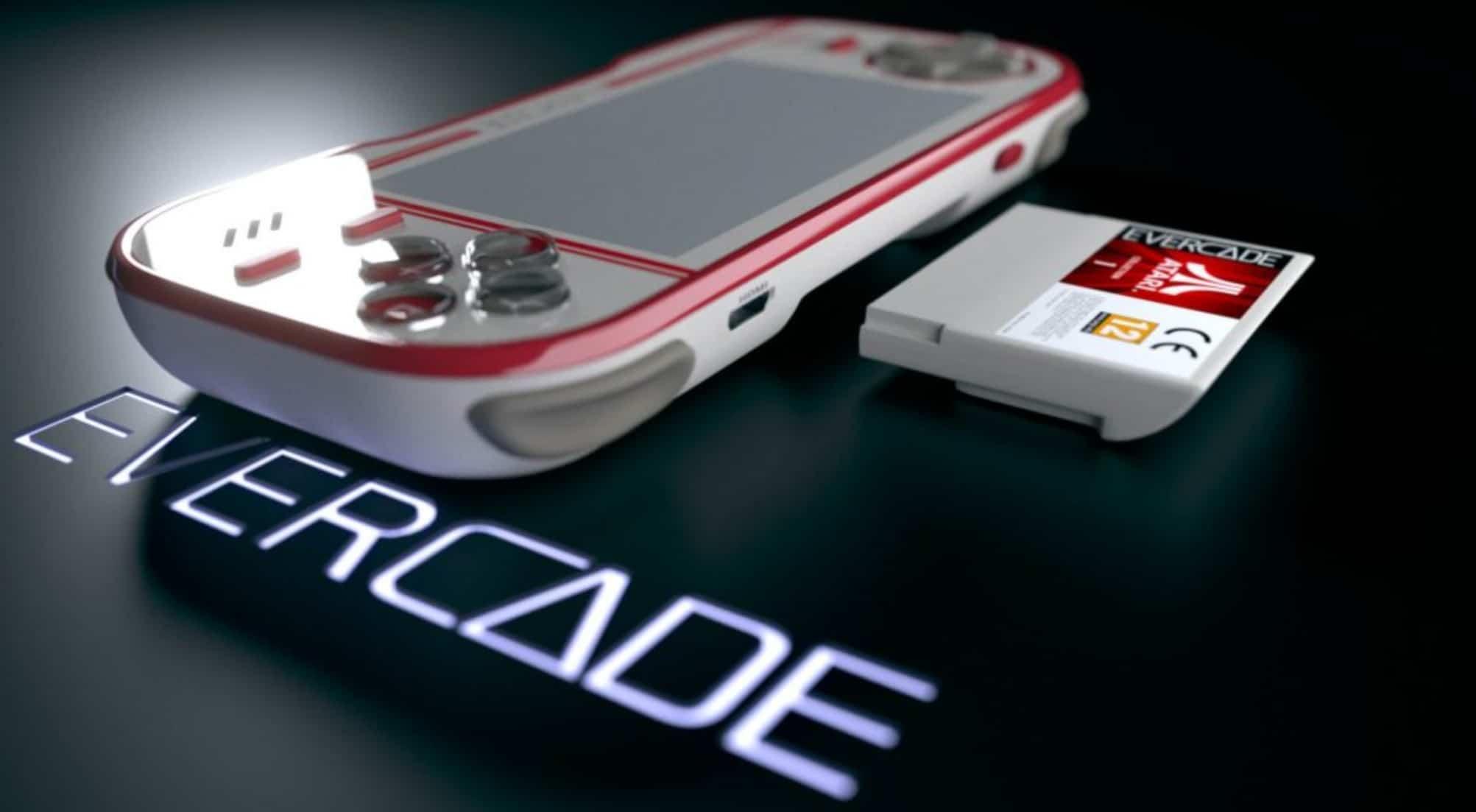Evercade: Neue Handheld-Konsole mit Klassikern von damals