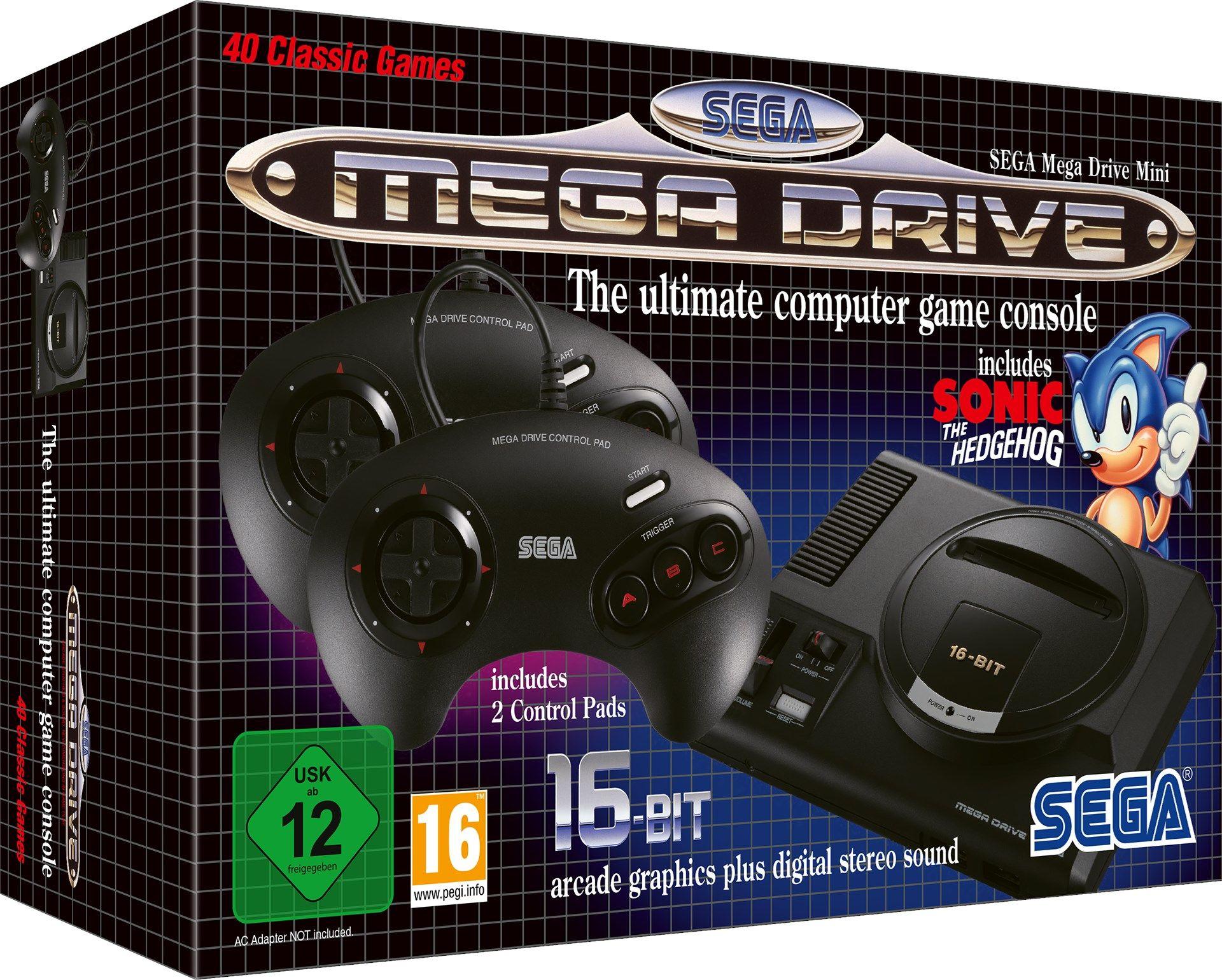 SEGA Mega Drive Mini: 16-Bit-Kult kehrt (schon wieder) zurück
