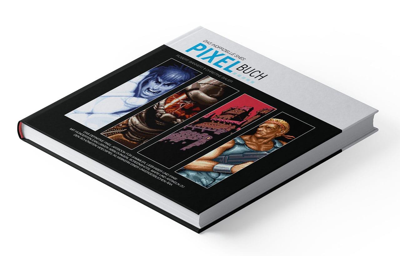 Das Pixelbuch erscheint im Juli 2019. (Foto: Elektrospieler)