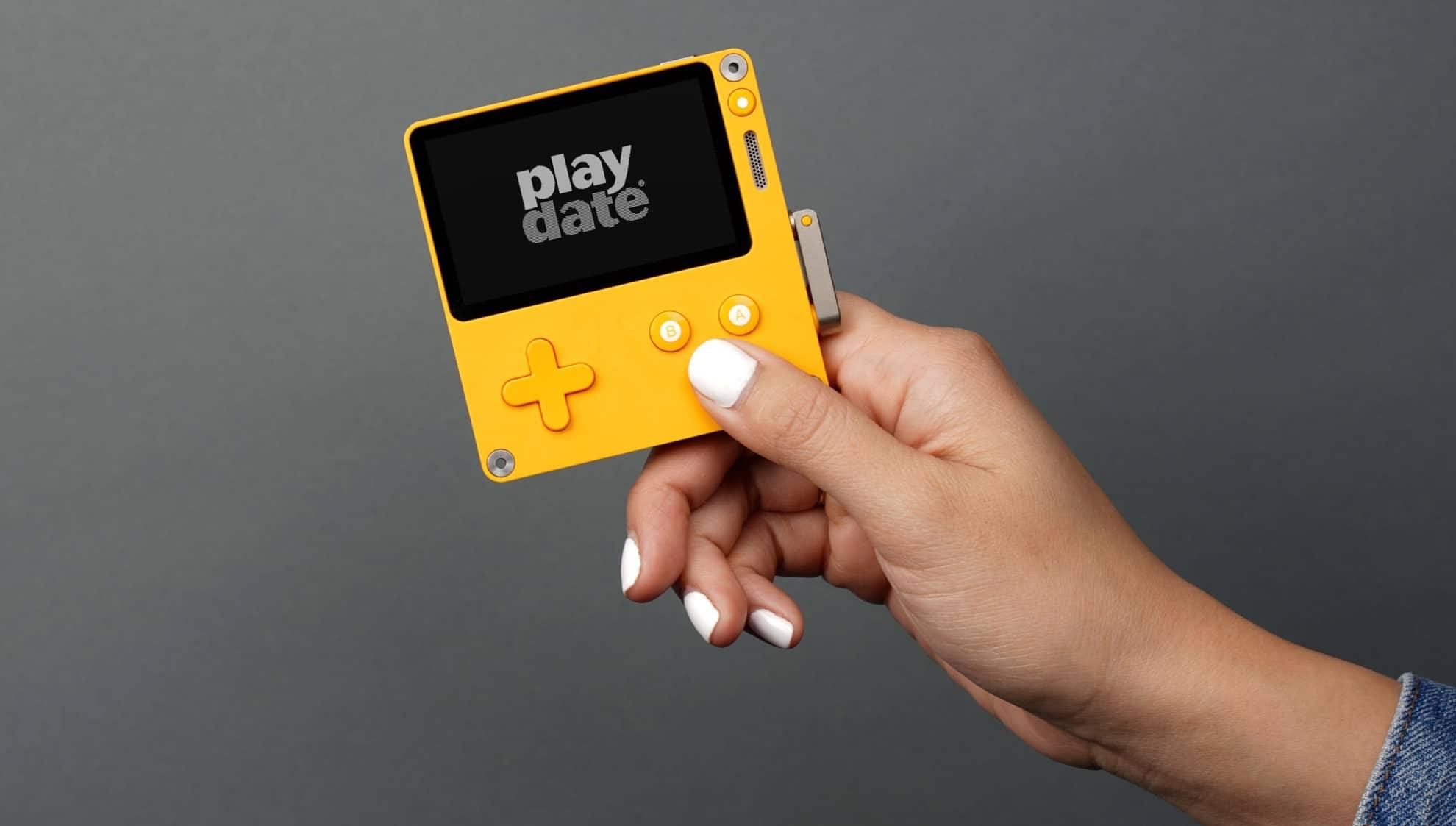 Playdate: Diese Handheld-Konsole liefert Spiele in Staffeln aus