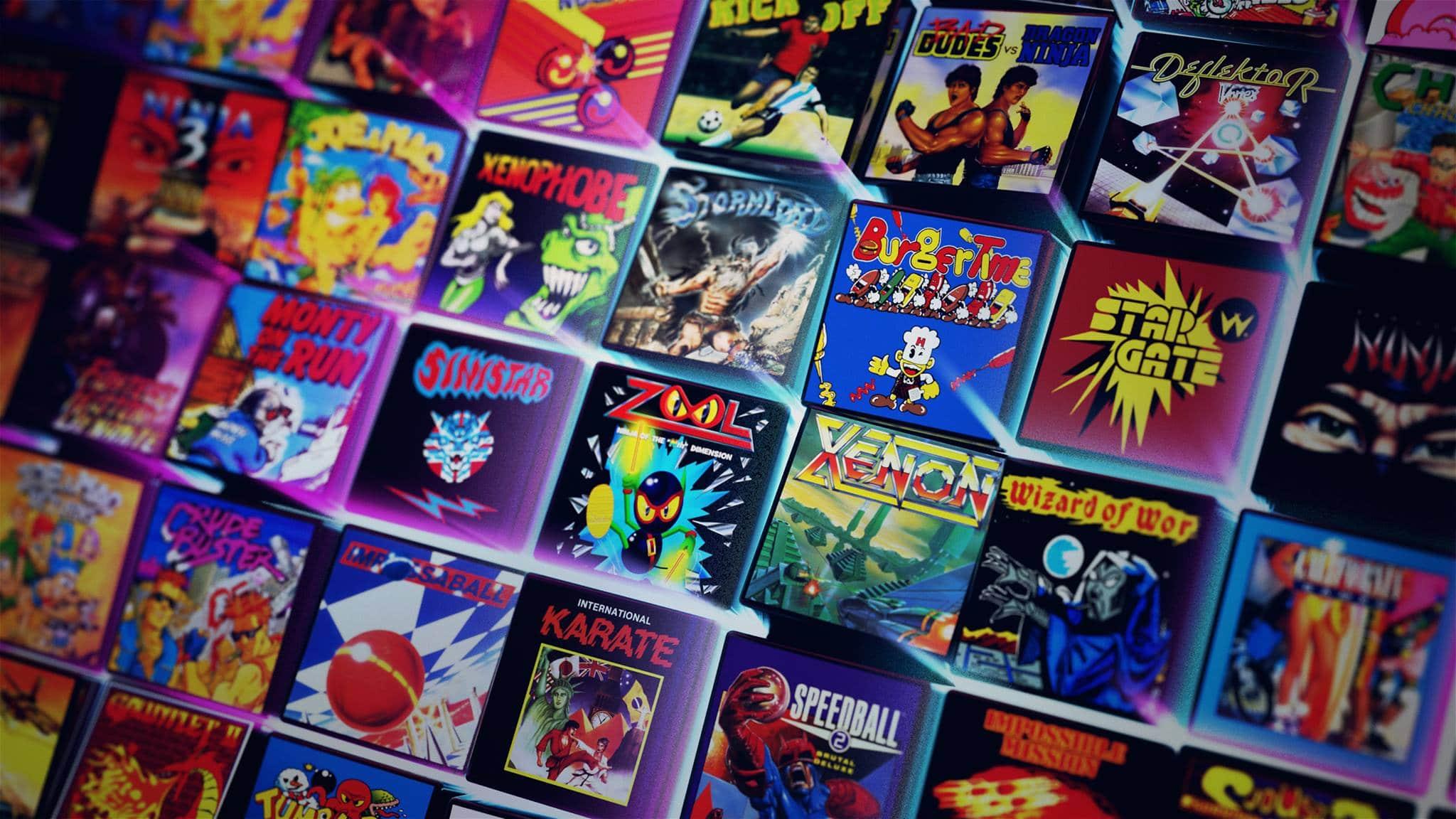 Antstream: Streaming-Plattform für Retro-Spiele