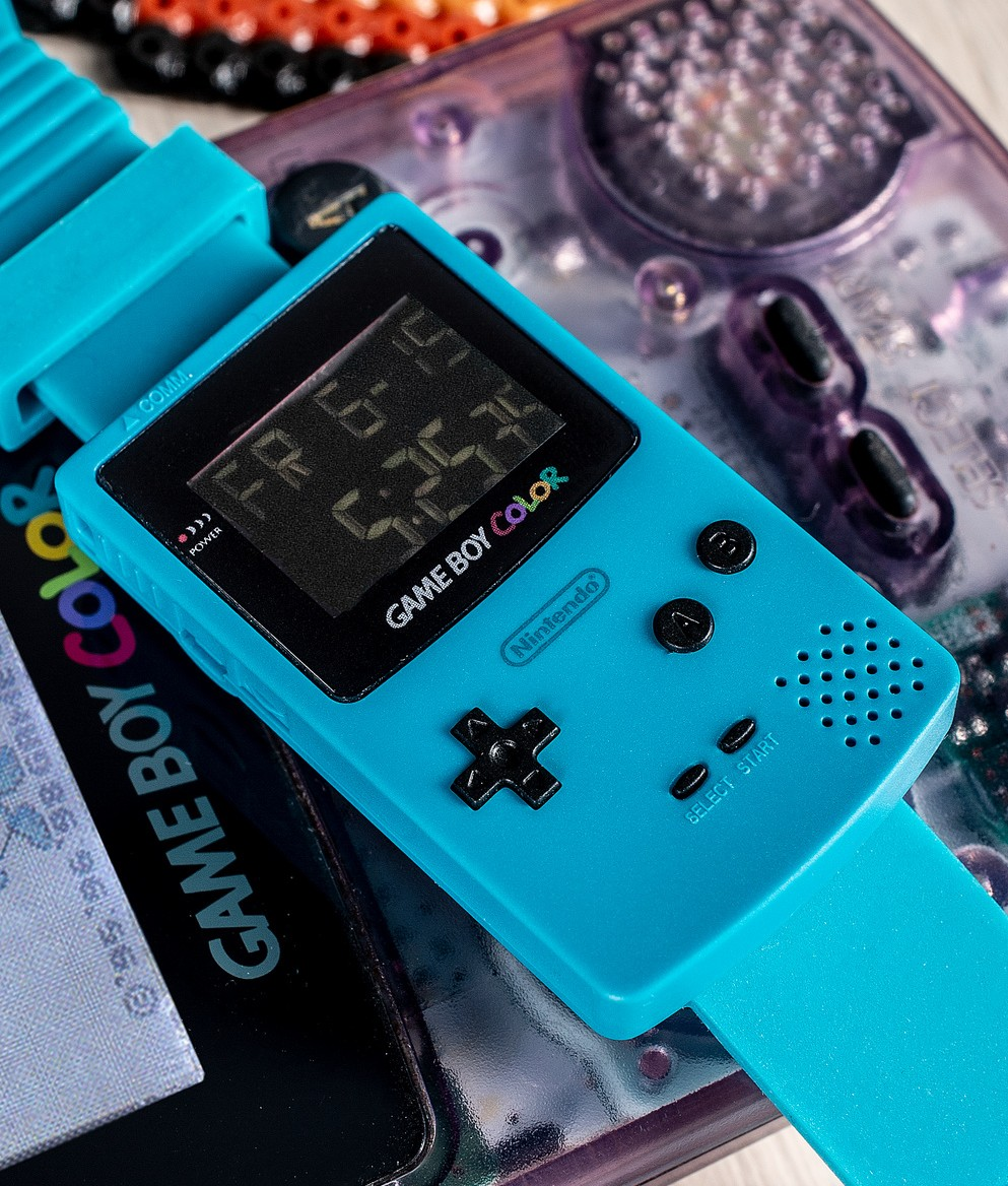 Lustig, diese Gameboy Color Watch. (Foto: Merchoid)