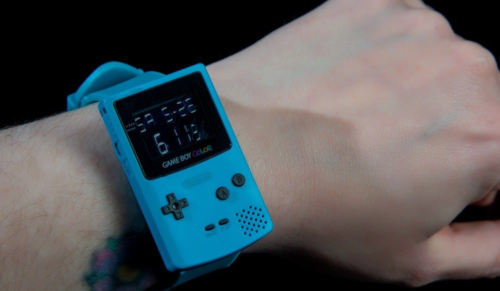 Gameboy Color Watch: Klassiker als Armbanduhr