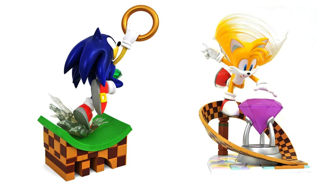 Wer soll es sein? Sonic oder Tails? (Foto: Collage / ThinkGeek)