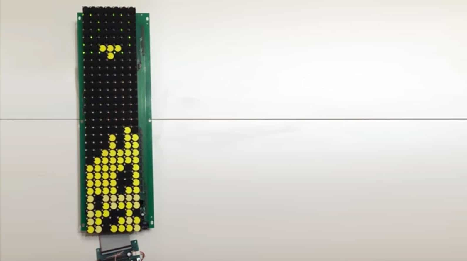 Analog-Tetris: Zocken auf einem mechanischen Display