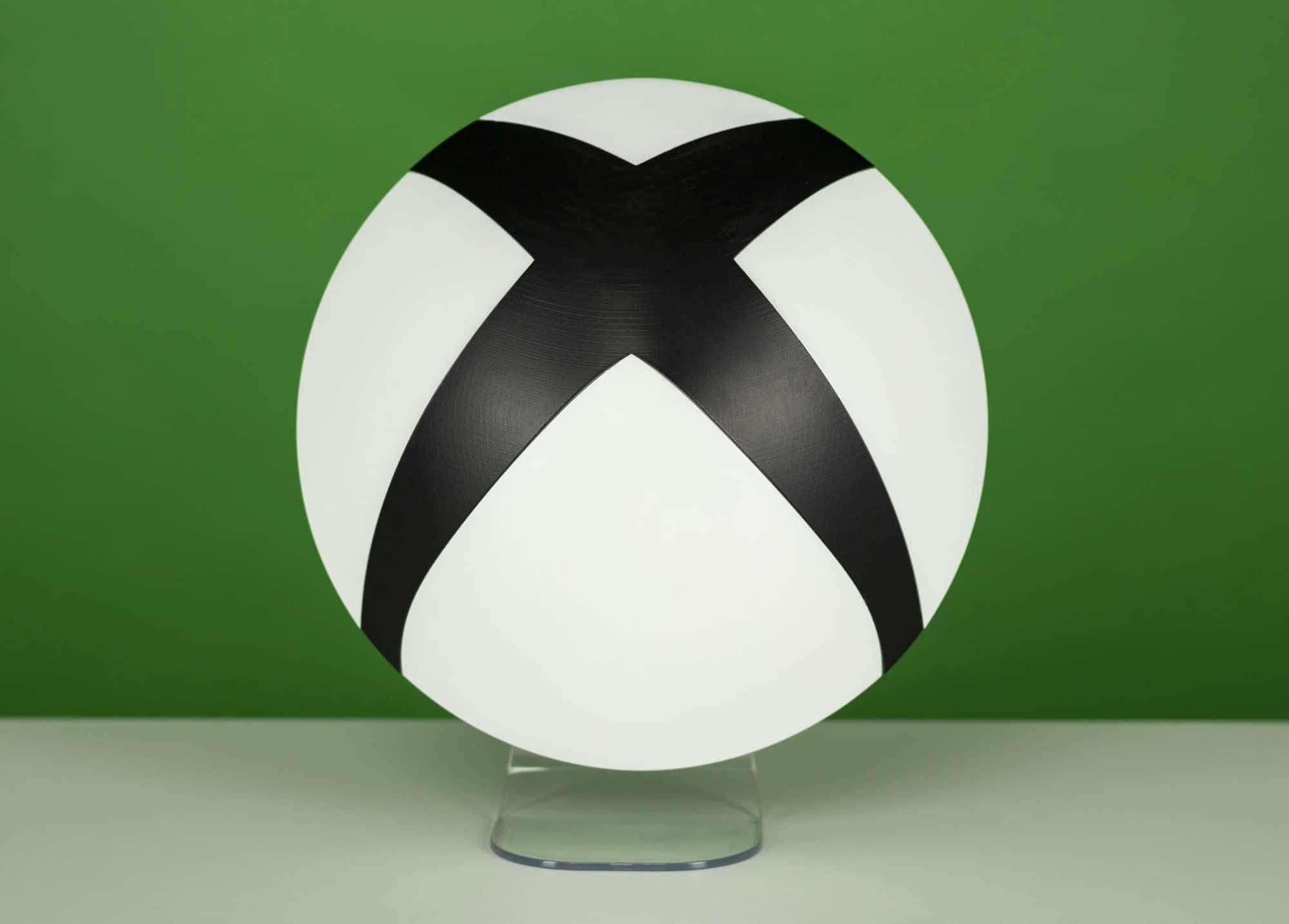 Das Logo der Xbox als Lampe - warum nicht? (Foto: Merchoid)