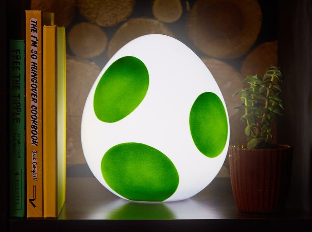 Yoshi Lampe: Holt euch das Ei nach Hause