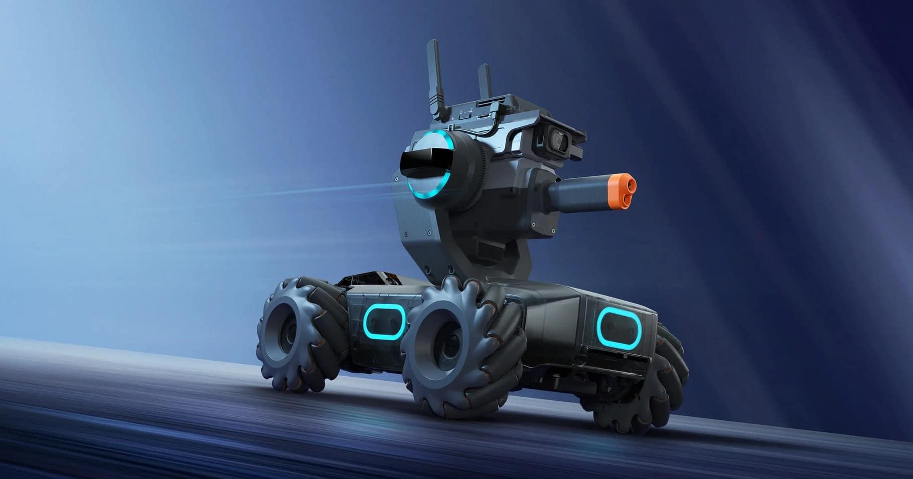 Cool sieht der DJI RoboMaster S1 auch aus. (Foto: DJI)