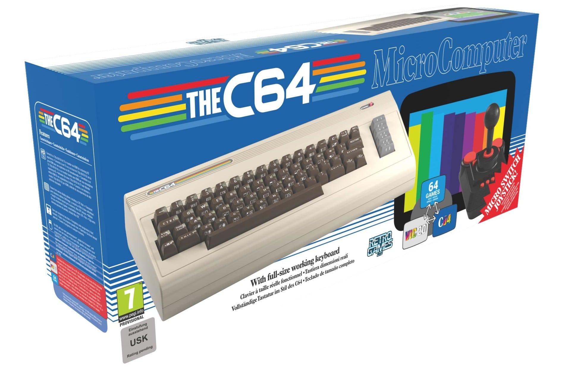 The C64 bietet mehr als die Mini-Variante. (Foto: KochMedia)