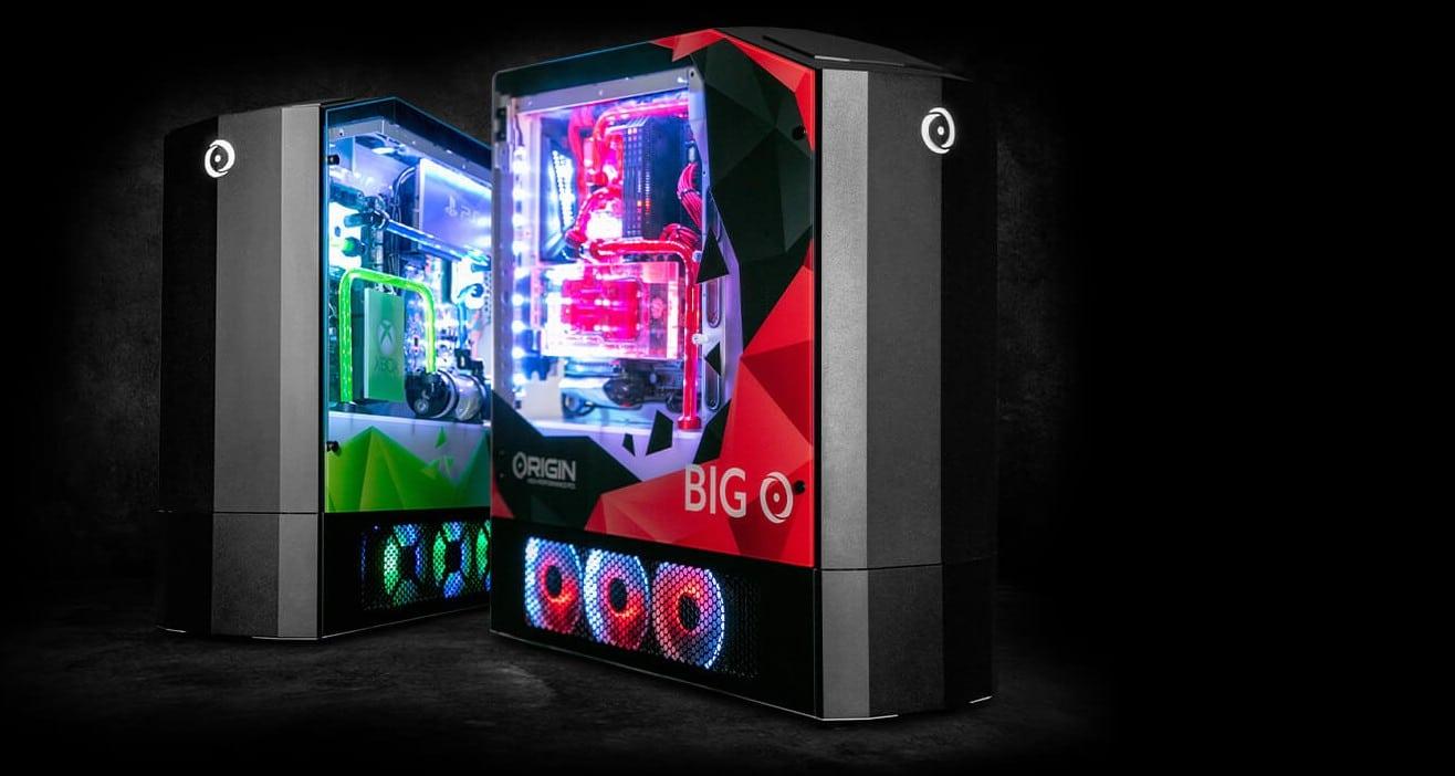 Big O ist eine Höllenmaschine! (Foto: Origin PC)