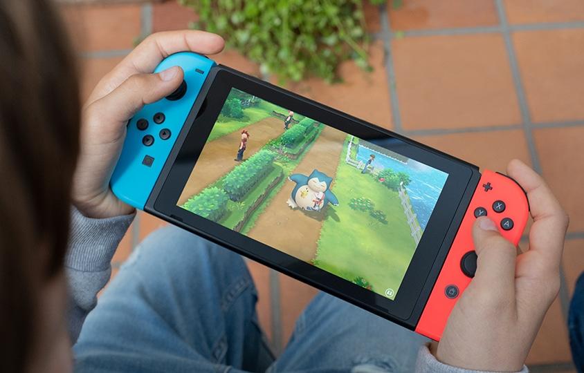 Die neue Switch sieht genauso wie die alte aus. (Foto: Nintendo)