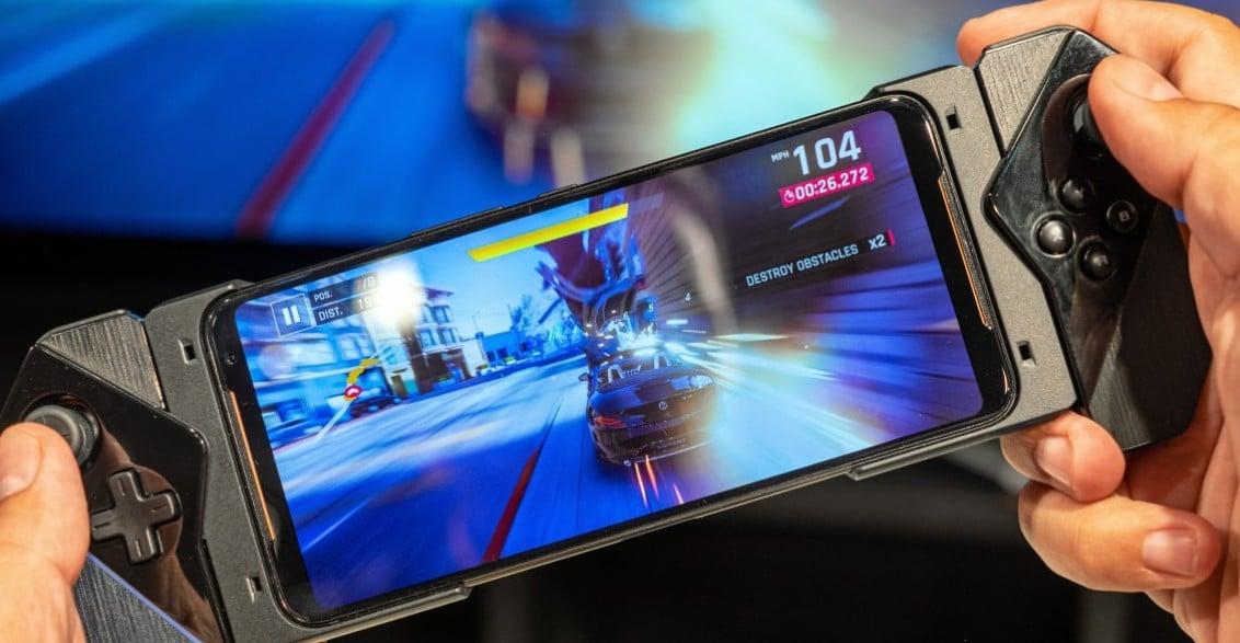 Eine Nintendo Switch? Nein, das Asus ROG Phone II. (Foto: gsmarena)