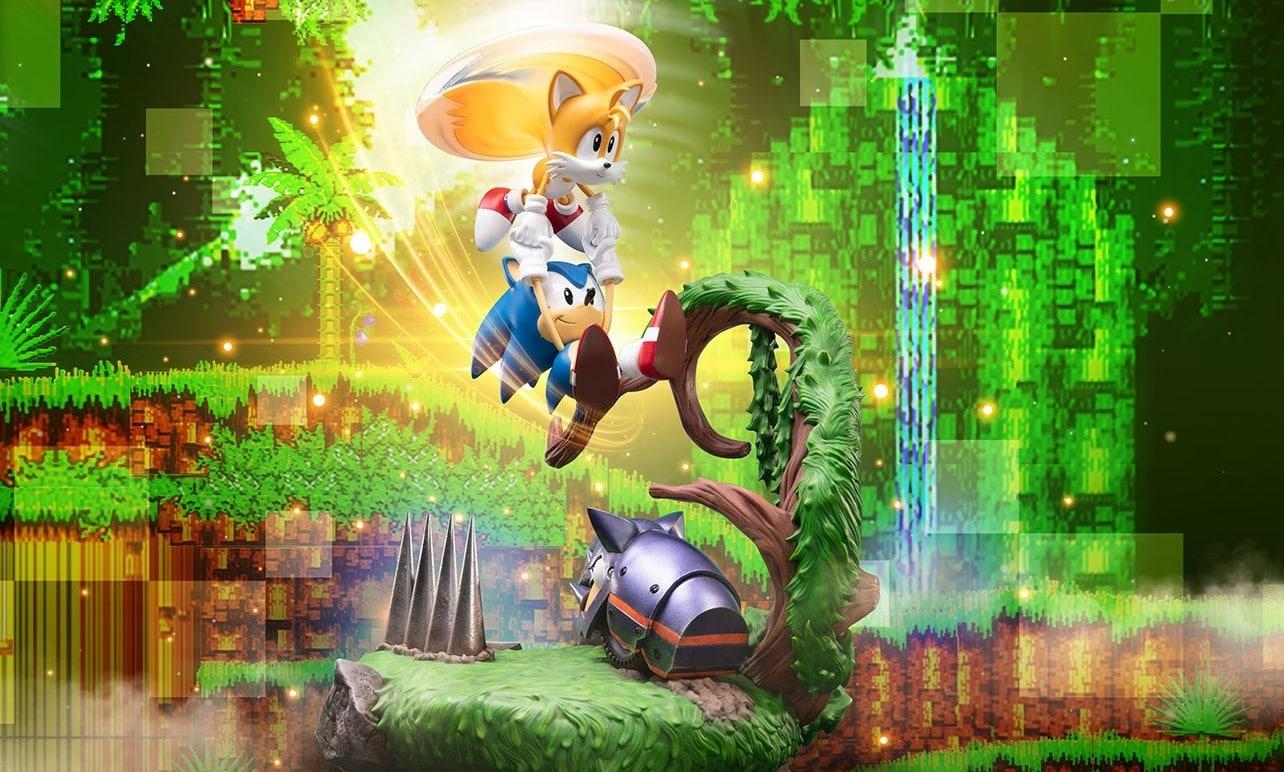 Sonic und Tails als tolle Statue. (Foto: First 4 Figures)