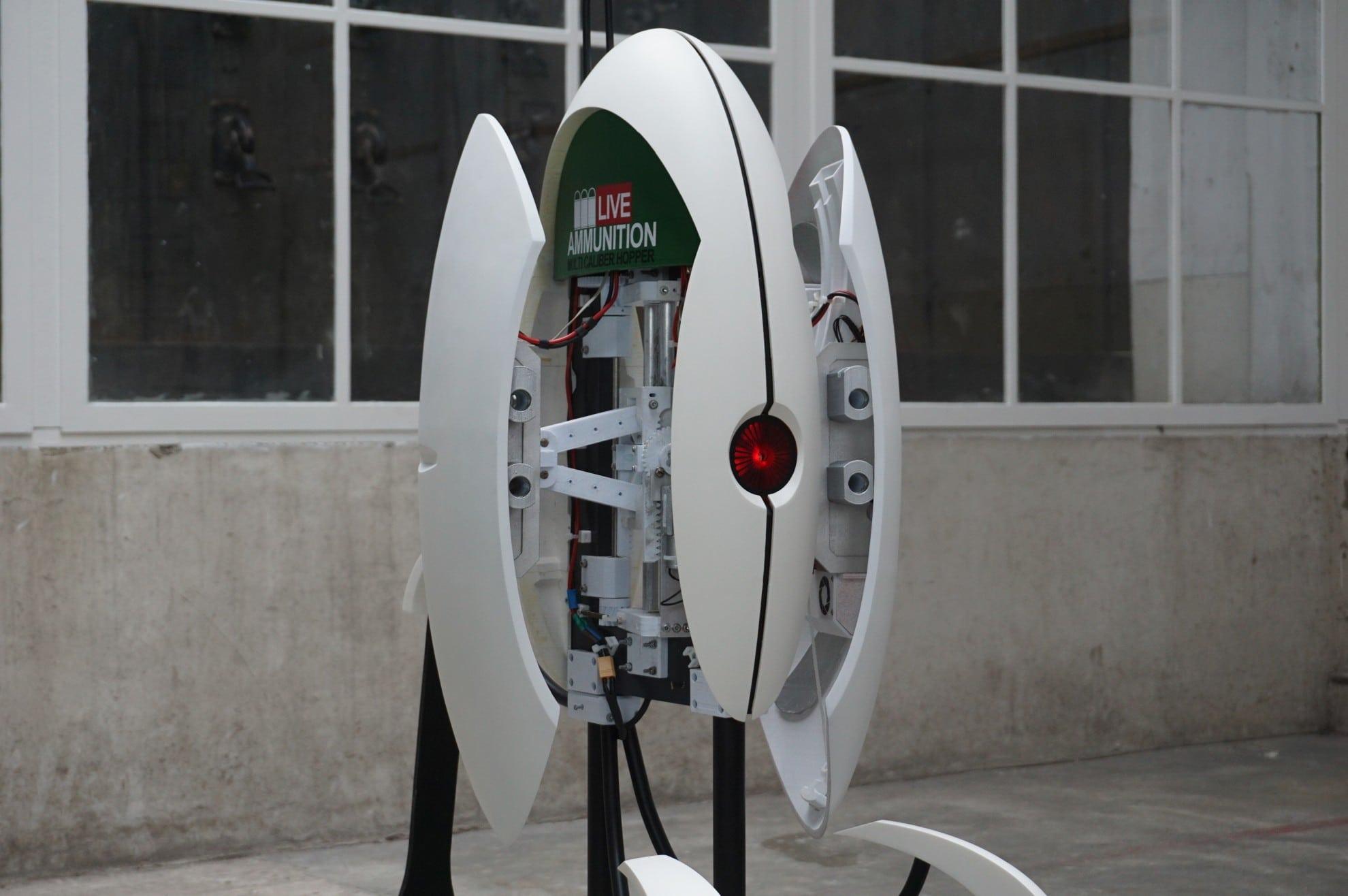 DIY Portal Turret: Dieses Geschütz gibt 400 Schuss pro Minute ab