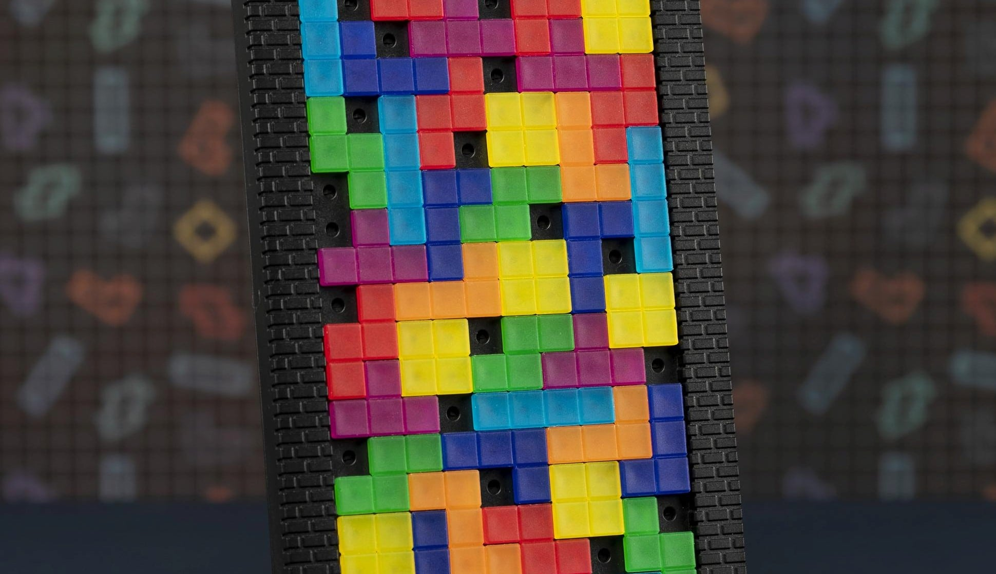 Das ist eine besondere Tetris-Lampe. (Foto: Merchoid)