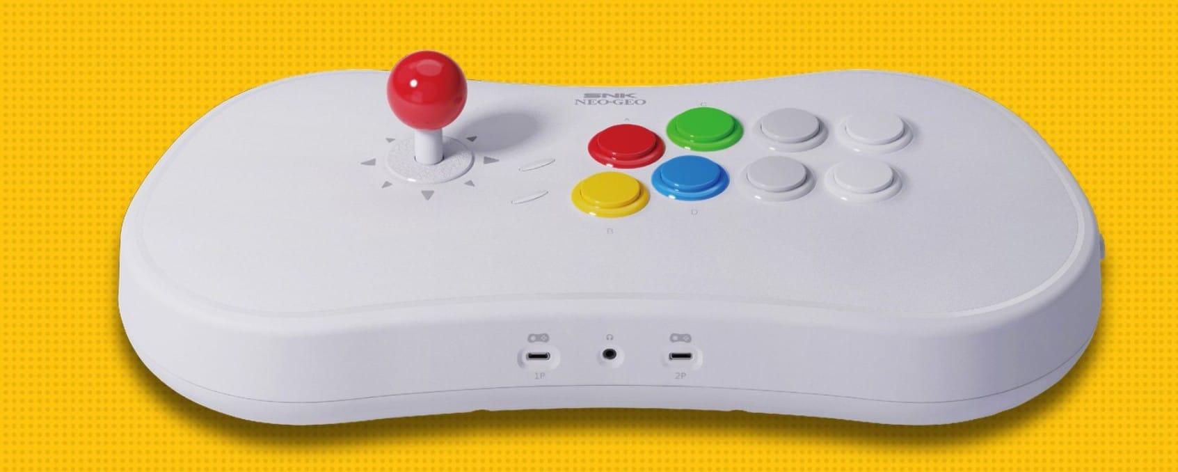 SNK Neo Geo Arcade Stick Pro: Spieleklassiker im Controller
