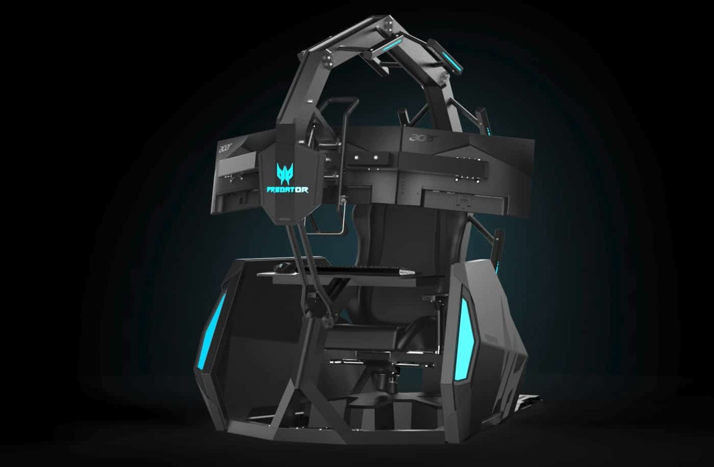 Der Acer Predator Thronos Air ist trotzdem ein teurer Gamingstuhl. (Foto: Acer)