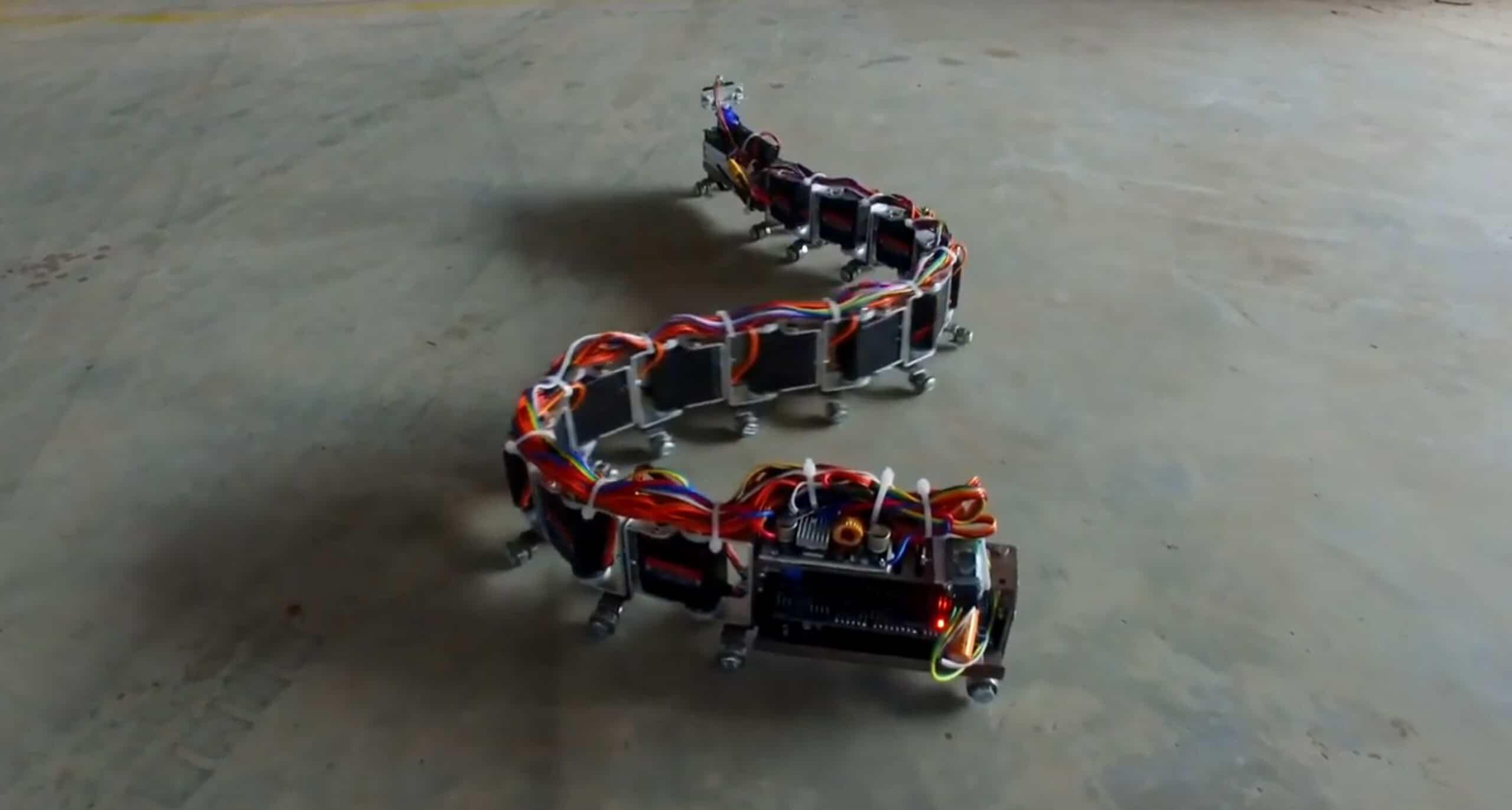 DIY Snake Robot: Diese intelligente Schlange lässt sich kontrollieren