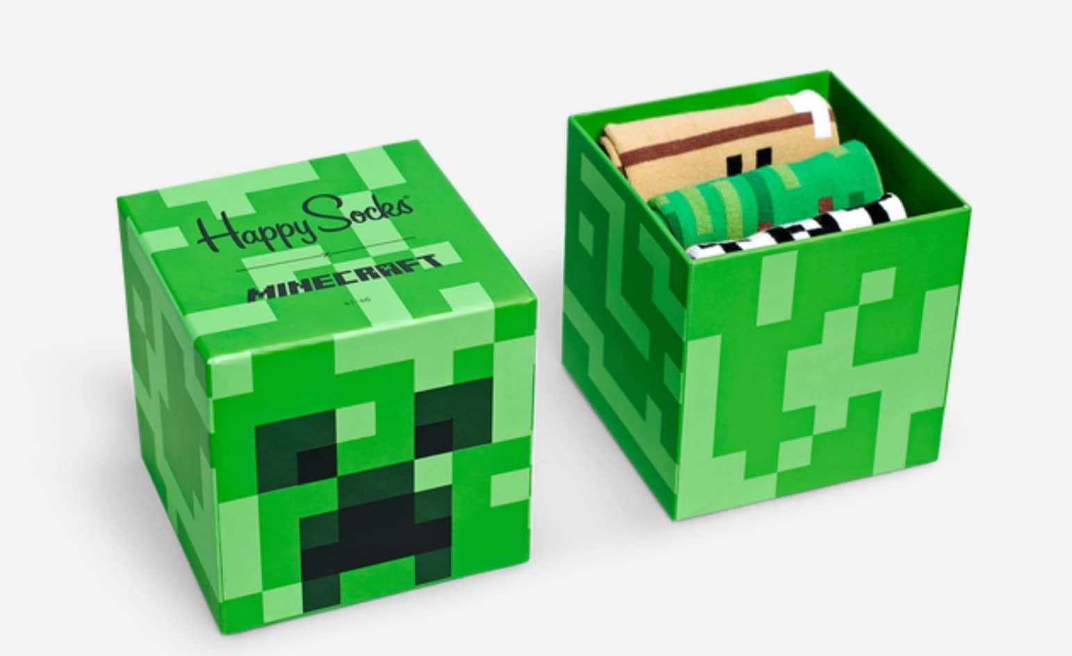 Minecraft: Limitierte Happy Socks für die Füße