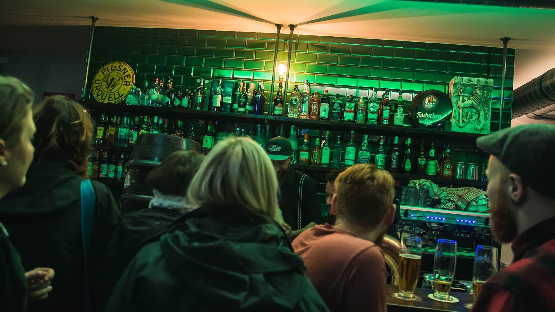 Das ist die Bar in Düsseldorf. (Foto: retematäng)