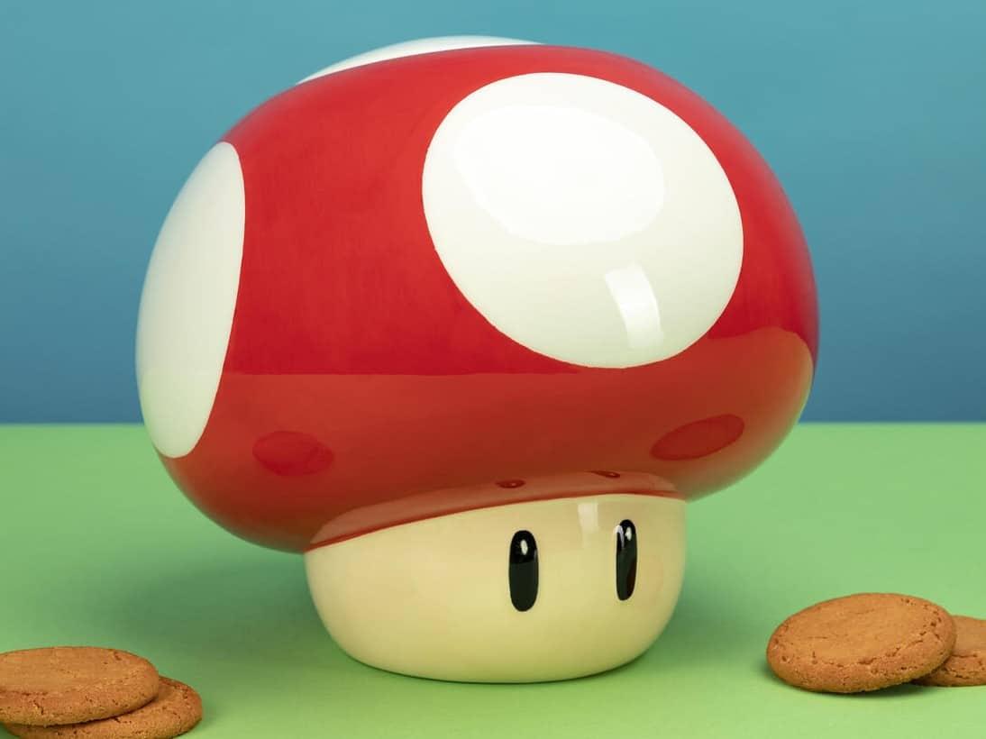 Super Mario Bros.: Der Pilz als Keksdose