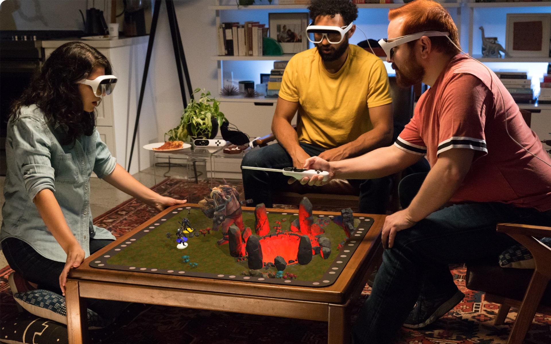 Brettspiele mit AR - die Zukunft? (Foto: Tilt Five)