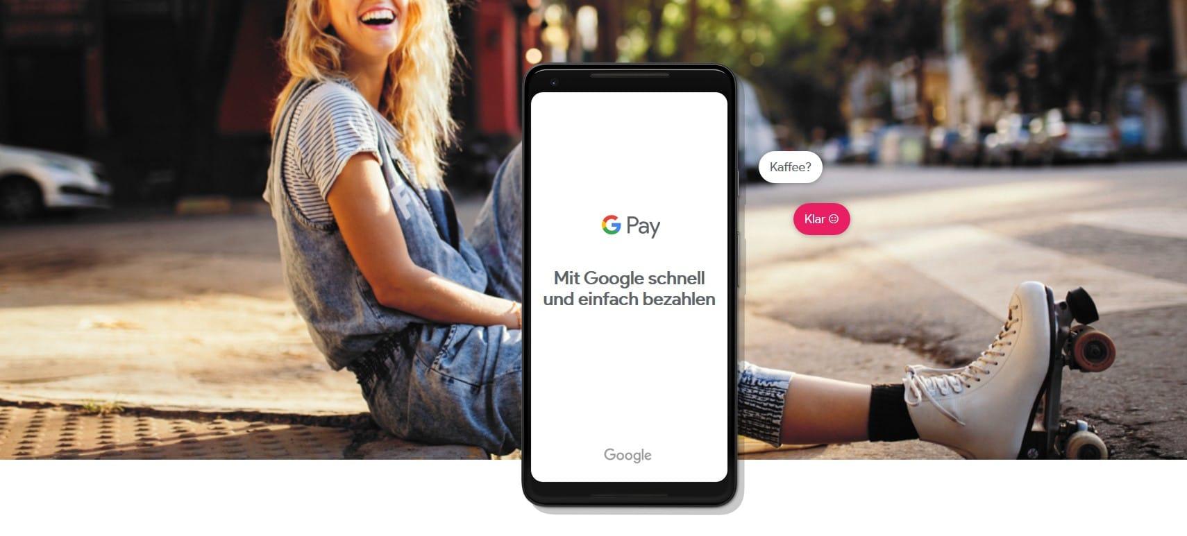 Einfach digital bezahlen - das ist auch mit Risiken verbunden. (Foto: Google / Screenshot)
