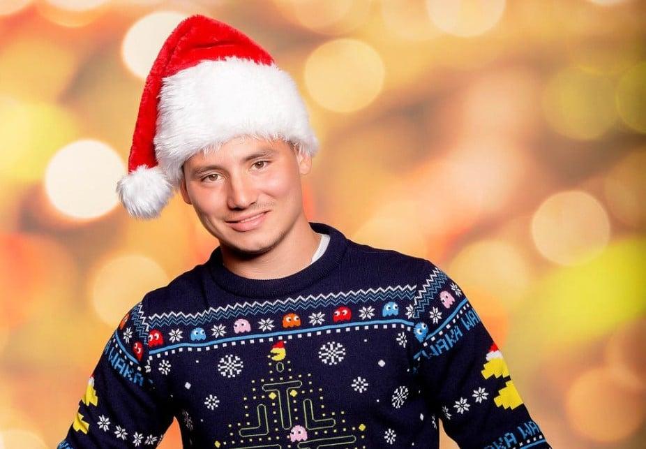 Pac-Man zu Weihnachten. (Foto: Merchoid)