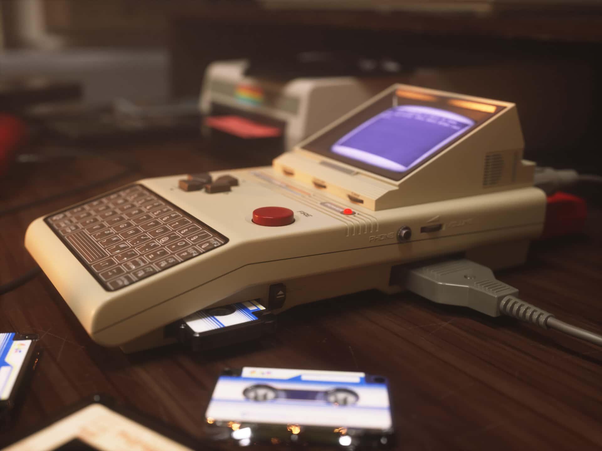Commodore HX-64: Geniale Handheld-Konsole, die es nie gab