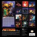 Metroid 2020 Kalender Rückseite. (Foto: Nintendo)