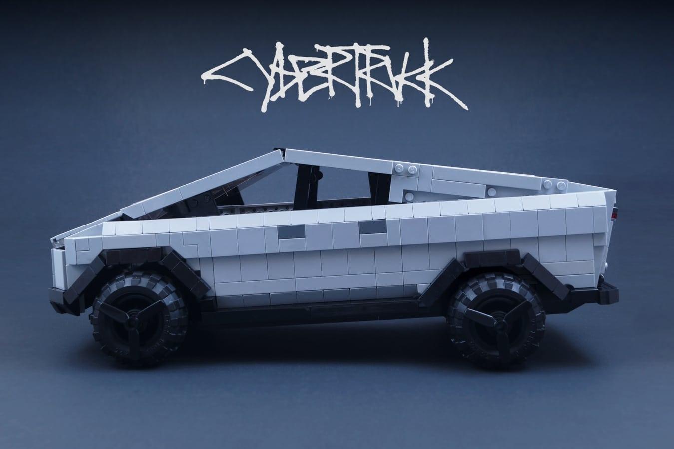 Der Cybertruck aus LEGO!? (Foto: LEGO Ideas)