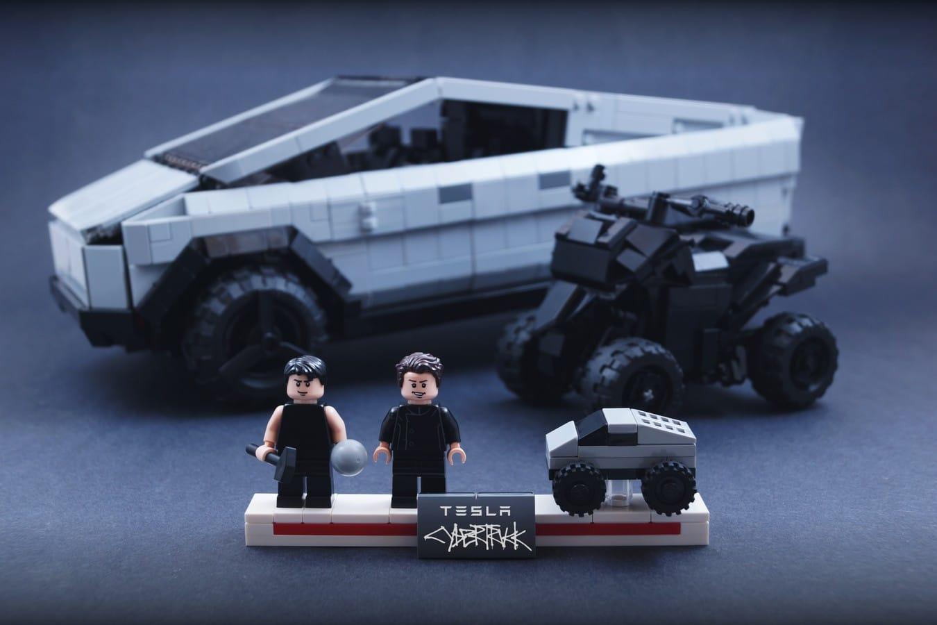 LEGO Cybertruck: Pick-Up von Tesla aus Bauklötzen