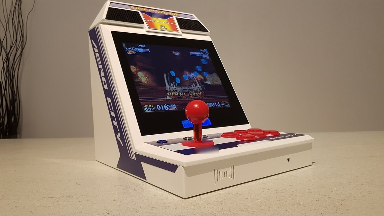 Mini SEGA Aero City: Handlicher Arcade-Automat selbstgebaut