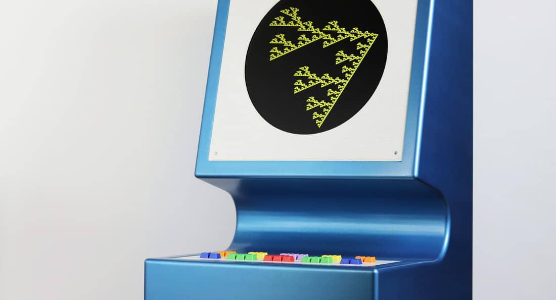 Ein komischer Spielautomat. (Foto: Love Hultén)