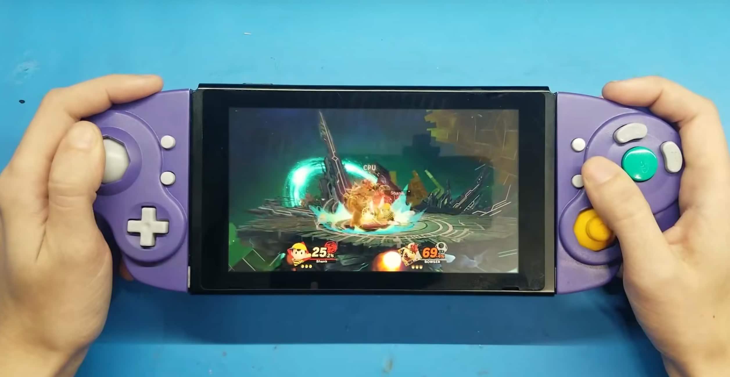 Nintendo Switch: Gamecube-Controller in Joy-Cons verwandelt