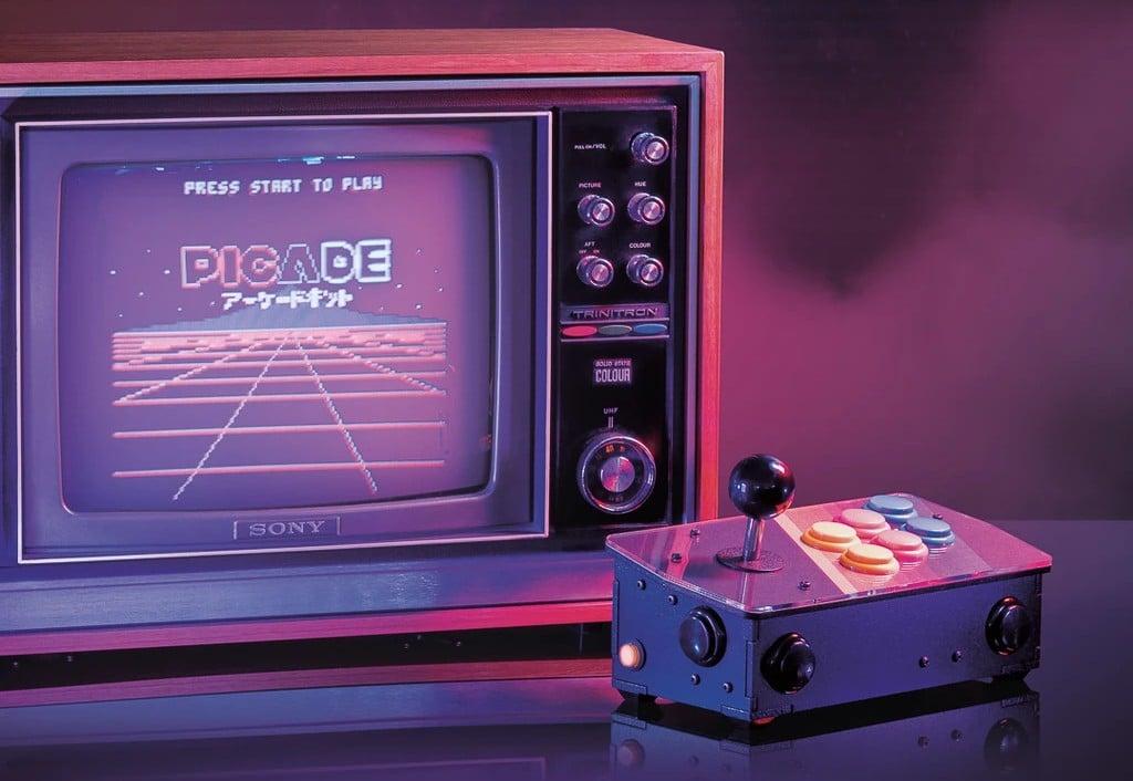 Picade Console: Baukasten für nostalgische Retro-Konsole
