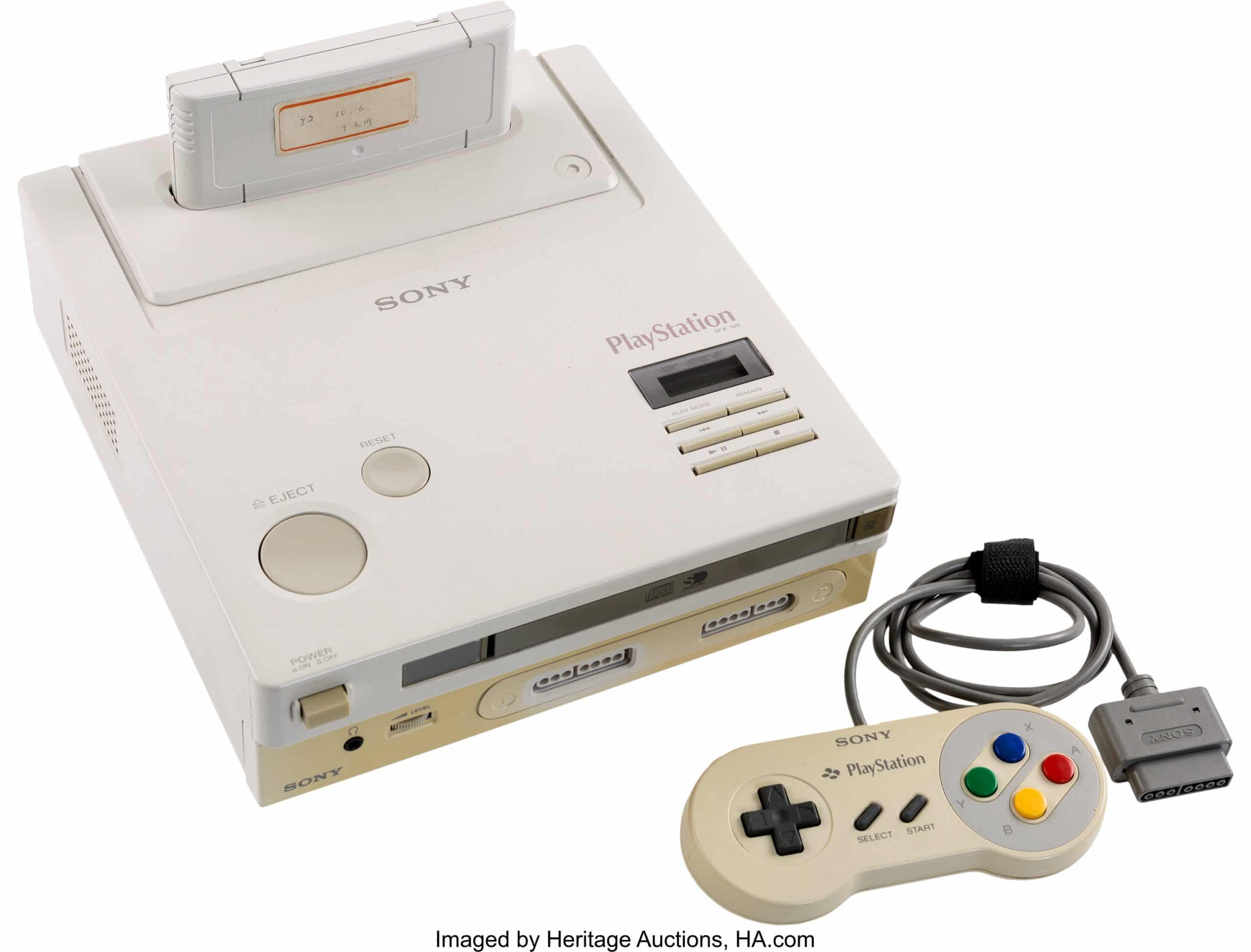 Die SNES Playstation. (Foto: HA)