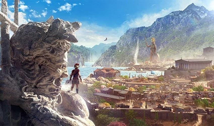 Bei Assassin's Creed Odyssey geht es ins alte Griechenland. (Foto: Ubisoft)
