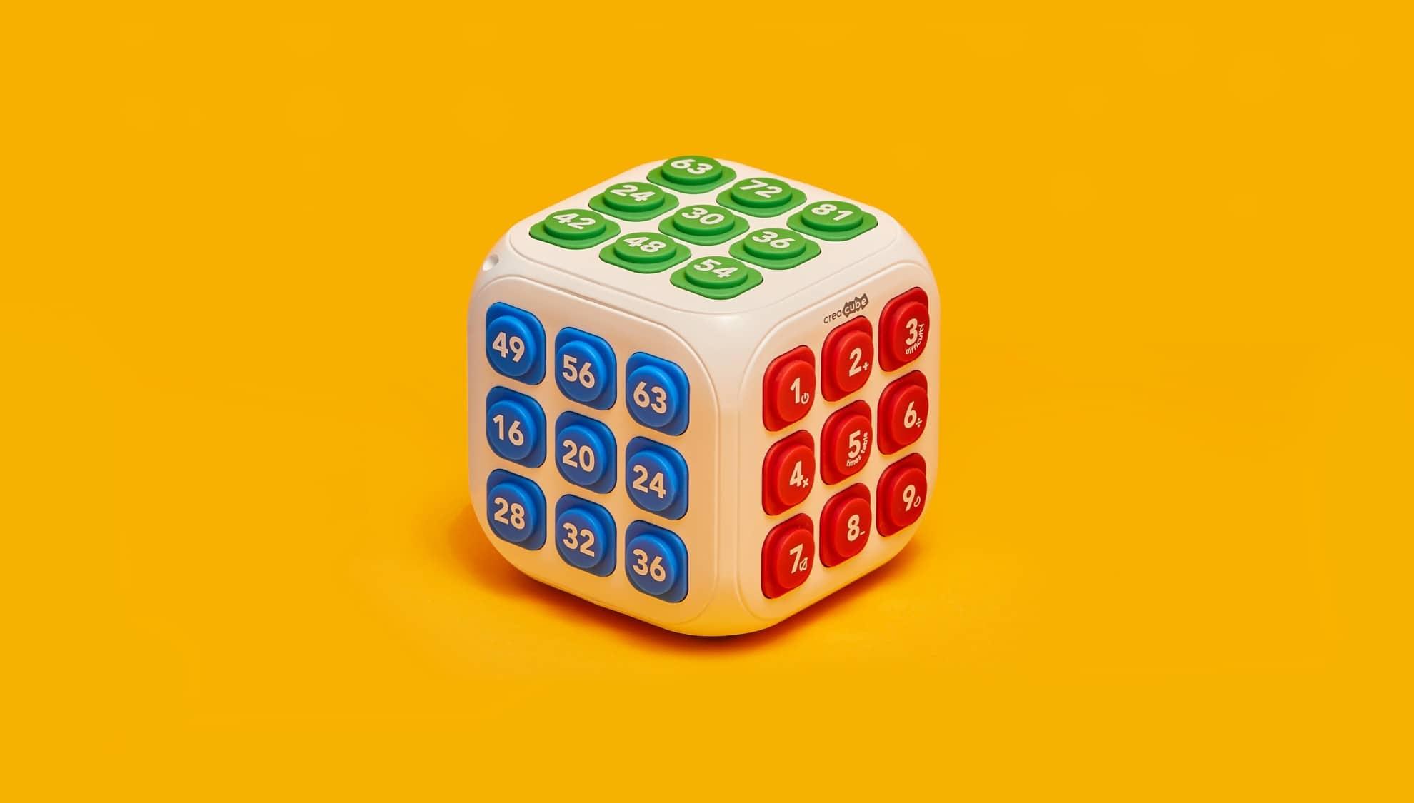 CreaCube: Mit diesem Würfel lernen Kinder Mathematik