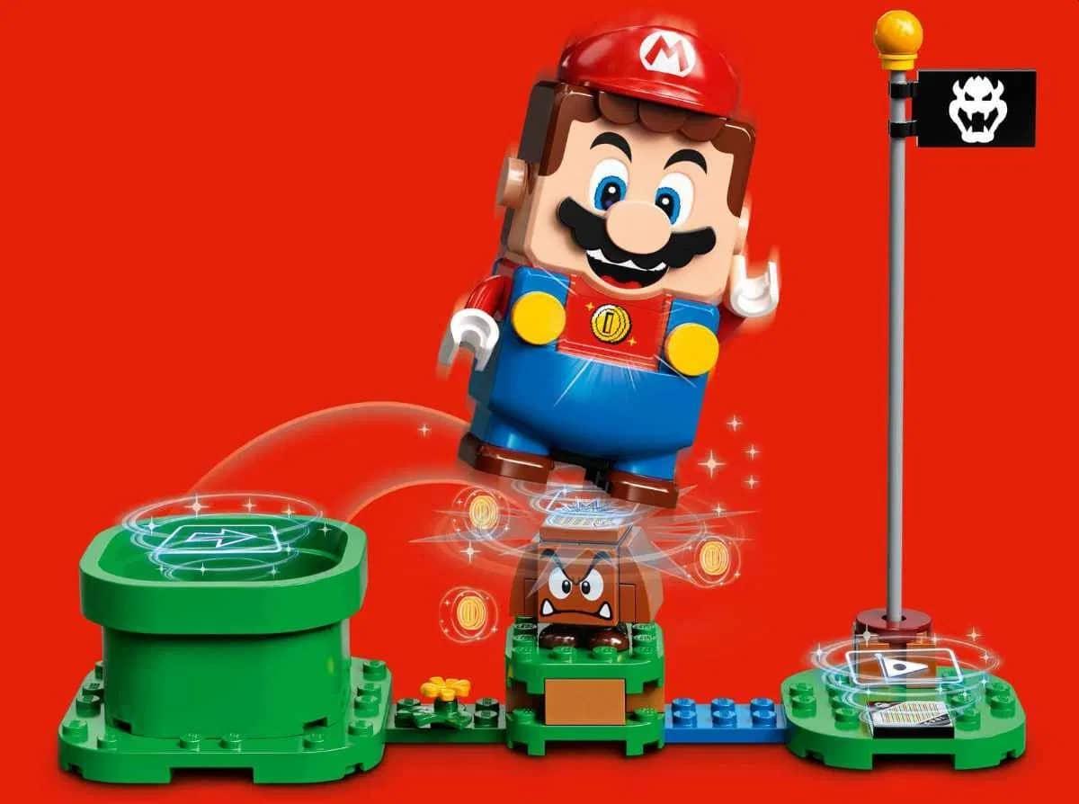 LEGO Super Mario: Klotz-Klempner zum Spielen