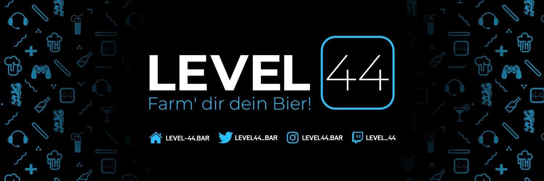 Level 44: Gaming- und eSport-Bar für Treffen im echten Leben